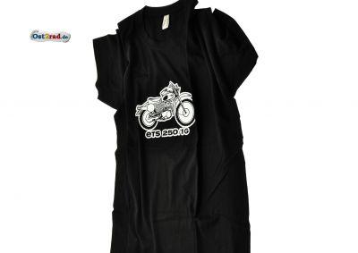 T-Shirt passend für MZ ETS 250-1 Geländesport schwarz