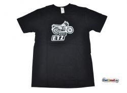 T-shirt noir motif ETZ 251