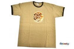 T-Shirt Six-Days karamell