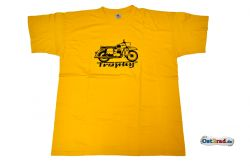 T-shirt jaune motif ES 250/2 Trophy