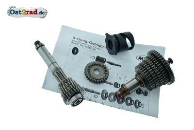 5-Gang Getriebe kurze Übersetzung S51 S53 SR50 KR51/2