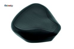 Black seat cover for single seat MZ TS 250, 250 / 1 NVA