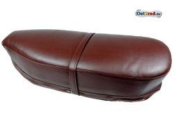 Selle biplace brun fonce JAWA CZ 125-350 Panelka