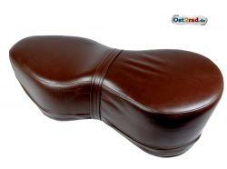 Sitzbank dunkelbraun Jawa CZ 125 - 350 Kyvacka in Form einer 8