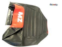Dual seat relation MZ ETZ 125, 150, 251 black / red