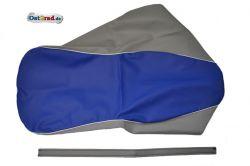 Housse de selle SIMSON AWO -S 425 bleu-gris