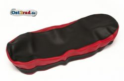 Sitzbankbezug JAWA Pionyr 20 21 schwarz rot