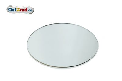 Spiegelglas, konvex- Ø 122 mm - splittergeschützt