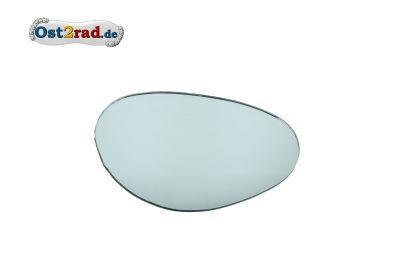 Spiegelglas Niere Oldtimer - 117x82mm