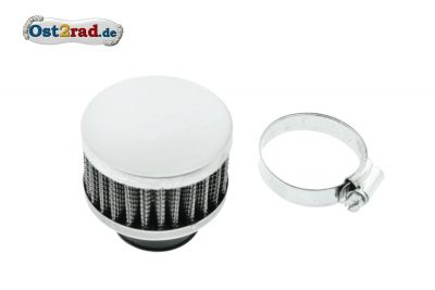 Sportluftfilter S50 S51 S70 chrom flach