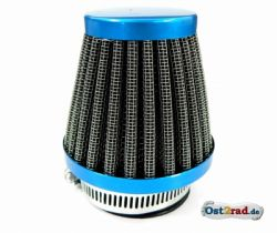 Air Filters for large, light blue for 52mm MZ250, colour