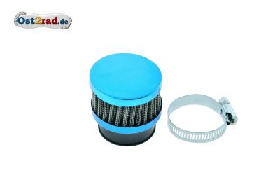 Air Filter 26-38mm light blue, flat