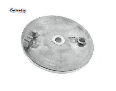 Bremsschild hinten - natur - ohne Loch f. Bremskontakt - SR50, SR80