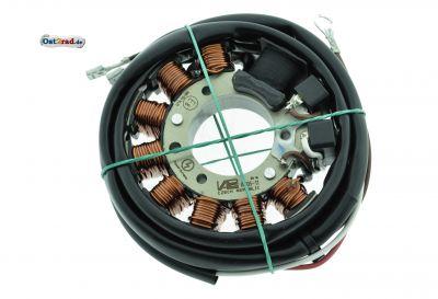 Stator passend für Zündung Powerdynamo RT, IWL, ES, ETS, TS 125, 150 6V