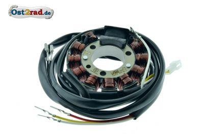 Stator passend für Zündung Powerdynamo ES, ETS, TS 250 300 6V