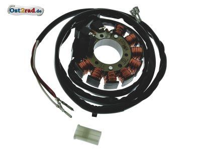 Stator passend für Zündung Powerdynamo RT, IWL, ES, ETS, TS 125, 150 12V