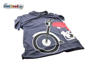 T-Shirt anthrazit mit SIMSON S51 Motiv
