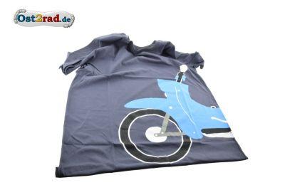 T-Shirt anthrazit mit SIMSON Schwalbe Motiv