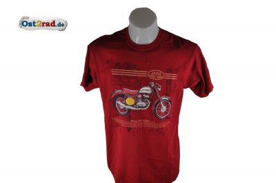 T-Shirt JAWA 553 Six Days rot
