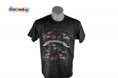 T-Shirt JAWA Legendary Motorcycles grau