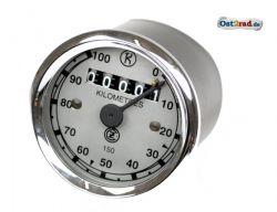 Tachometer rund 100 km/h CZ 125 150 C
