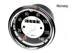 Tachometer rund 140 km/h Jawa CZ 125 - 350