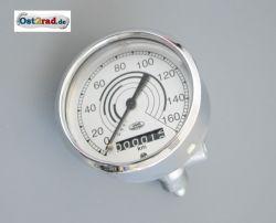 Speedometer Jawa Perak bis 160km/h