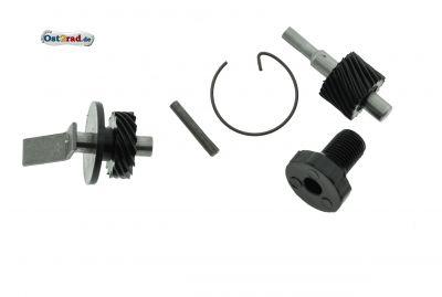 Set Tachoantrieb für Ritzel 14Z  Kunststoff-Zahnräder S50, KR51/1, SR4-