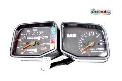 Instruments, Speedometer, Revolution counter, MZ, MuZ, Kanuni, Saxon