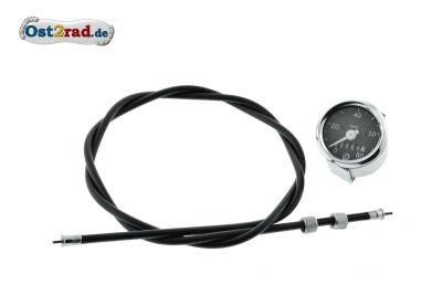 Speedometer including speedometer cable Jawa Pioneer, Mustang