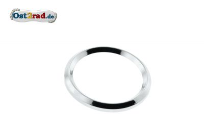 Speedo ring 60mm for MZ RT 125, IWL, chrome