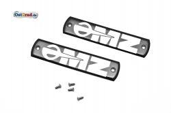 Abzeichen Set Plakette für Tank passend für MZ TS mit Schrauben