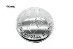 Bouchon réservoir aluminium poli MZ SIMSON Sperber AWO - Estampage IFA