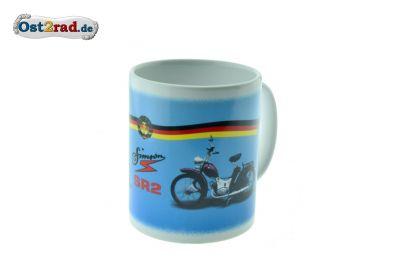 Mug bleu blanc SR2