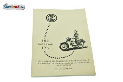 Technische Beschreibung und Fahranweisung CZ 453 450 deutsch
