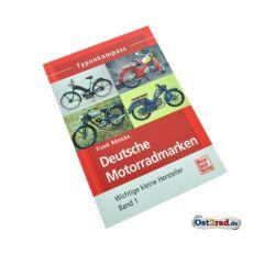 Buch Typenkompass Deutsche Motorradmarken - Wichtige kleine Hersteller Band 1 von Frank Rönicke
