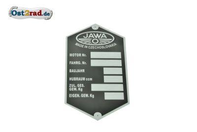 Blank label JAWA