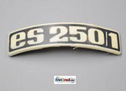 Abzeichen Plakette Kotflügel passend für MZ ES250/1 gebogen Plastik