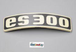Abzeichen Plakette für Kotflügel passend für MZ ES300 gebogen Plastik