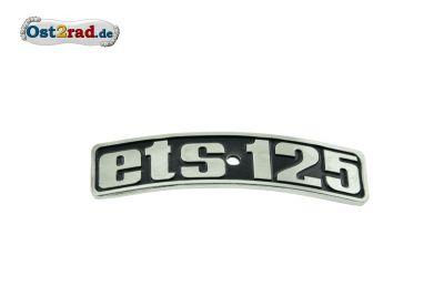 Emblême ETS125  MZ ETS 125