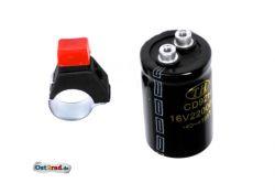 Set Ausschalter Kondensator elektronische Zündung ohne Batterie