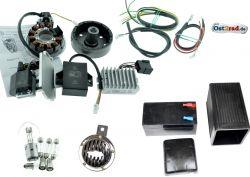 Elektronische Zündung Umrüstsatz komplett Powerdynamo/Vape 12V pass. für AWO-Touren