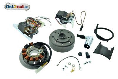 Umrüstsatz Zündanlage VAPE (M-G-V) für S50, S51, S70 auf 12V 35/35W - ohne Zubehör
