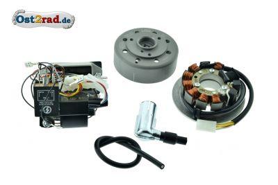 Umrüstsatz Zündanlage VAPE (M-G-V) für SR50, SR80 auf 12V 35/35W - ohne Zubehör