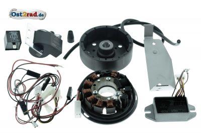 Zündung Vape Version 3, 12V Set für Simson KR51-2 Schwalbe