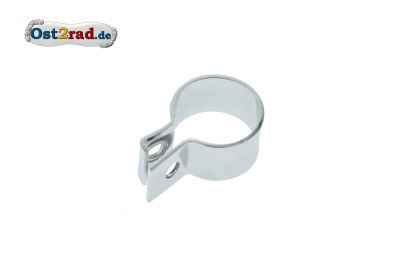 Clip for silencer MZ 125/150 Chrome