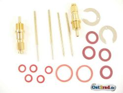 Carburettor repair kit for MZ BK 350 flat slide