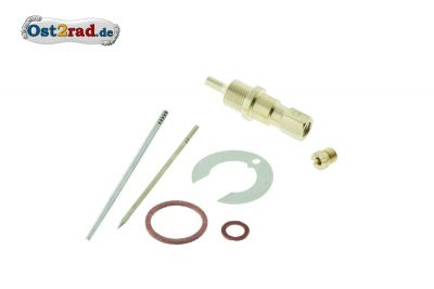 Carburettor repair kit for MZ RT125/3 round slide