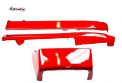 Verkleidung Plastik rot Sitzbank JAWA 638 639