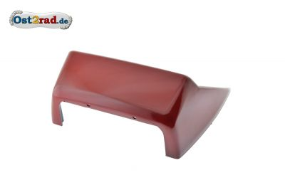 Verkleidung Sitzbank hinten JAWA 638 rot